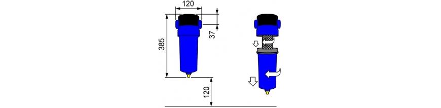 Фильтры очистки сжатого воздуха